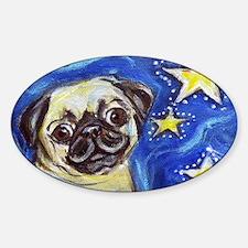 Pug Stars 2 Decal