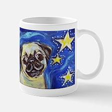 Pug Stars 2 Mugs