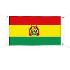 Bolivia flag Banner