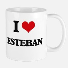 I Love Esteban Mugs