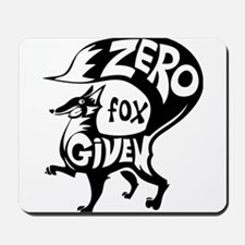 Zero Fox Given Mousepad