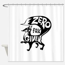 Zero Fox Given Shower Curtain