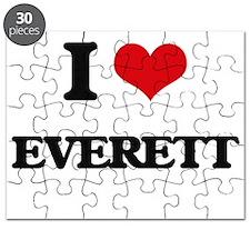 I Love Everett Puzzle