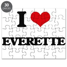 I Love Everette Puzzle