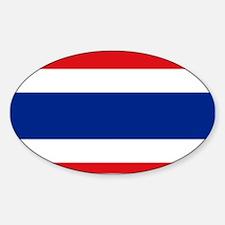 Armenian flag Sticker (Oval)