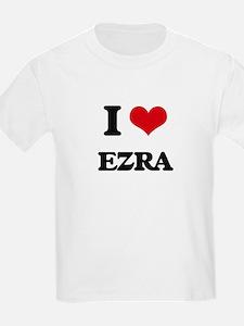 I Love Ezra T-Shirt