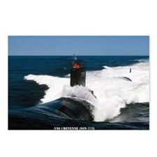 USS CHEYENNE Postcards (Package of 8)
