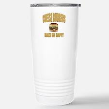 Cheeseburgers-Design 1 Stainless Steel Travel Mug