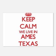 Keep calm we live in Ames Postcards (Package of 8)