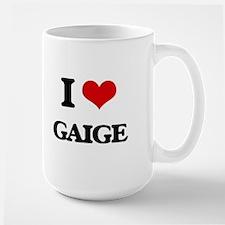 I Love Gaige Mugs