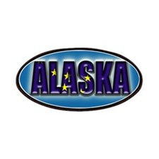 Alaska Flag Clr Patches