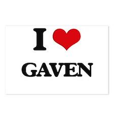 I Love Gaven Postcards (Package of 8)