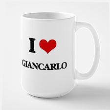 I Love Giancarlo Mugs