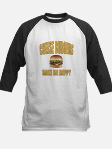 Cheeseburgers-Design 1 Baseball Jersey
