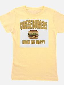 Cheeseburgers-Design 1 Girl's Tee