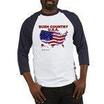 Bush Country USA (County) Baseball Jersey