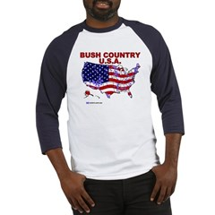 Bush Country USA (County) Baseball Jersey