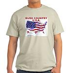 Bush Country USA (County) Ash Grey T-Shirt
