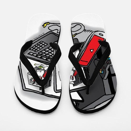 Tech Frenzy 2015 Flip Flops