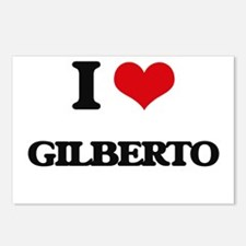 I Love Gilberto Postcards (Package of 8)
