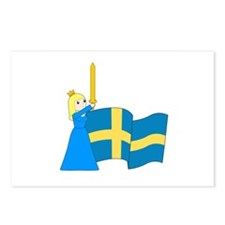 Cute Sverige Postcards (Package of 8)