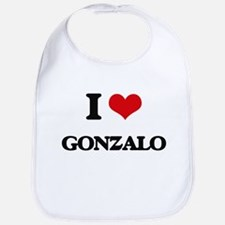I Love Gonzalo Bib