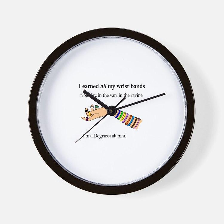 Cute Wrist bands Wall Clock