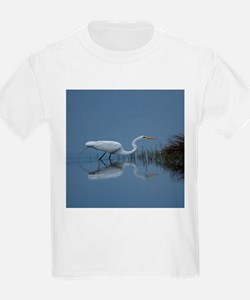 great white egret T-Shirt