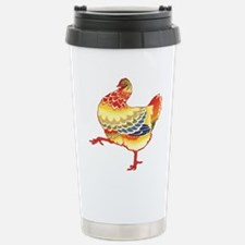 Vintage Chicken Travel Mug