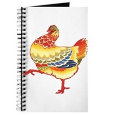 Vintage Chicken Journal