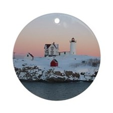 Round Ornamentof Nubble Light