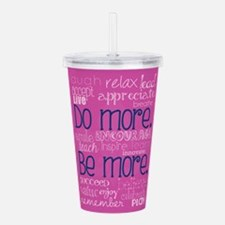 Unique Weight loss motivation Acrylic Double-wall Tumbler