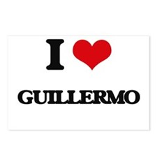 I Love Guillermo Postcards (Package of 8)