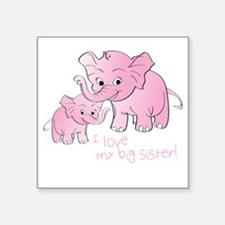 Big Sister & Little Sister Elephants Sticker
