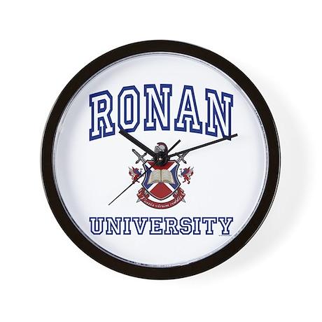 RONAN University Wall Clock