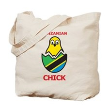 Tanzanian Chick Tote Bag