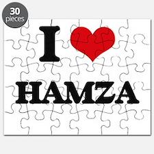 I Love Hamza Puzzle