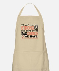Endometrial Cancer HowStrongWeAre Apron