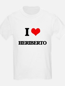 I Love Heriberto T-Shirt