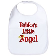 Babka's Little Angel Bib