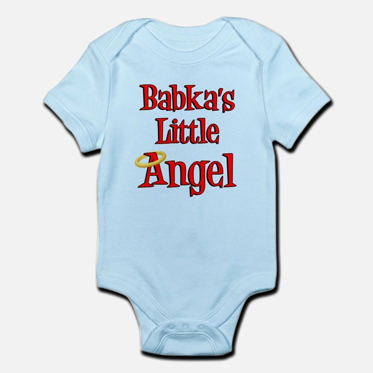 Babka's Little Angel Body Suit