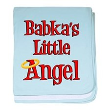 Babka's Little Angel baby blanket