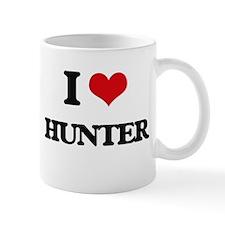 I Love Hunter Mugs