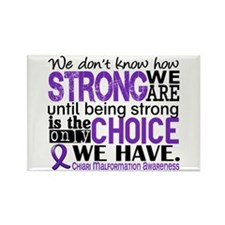 Chiari How Strong We Are Rectangle Magnet
