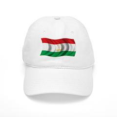 Wavy Tajikistan Flag Baseball Cap