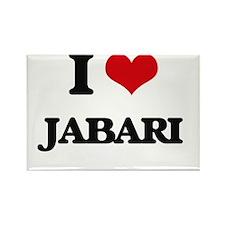 I Love Jabari Magnets