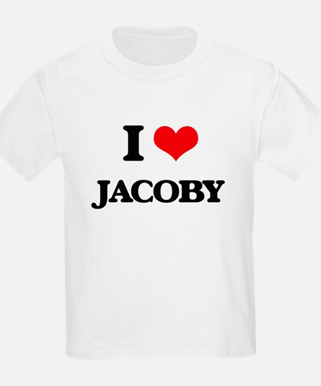 I Love Jacoby T-Shirt