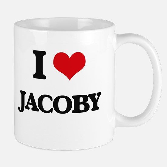 I Love Jacoby Mugs