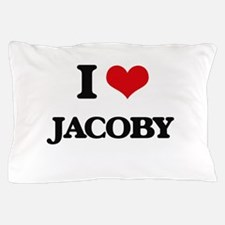 I Love Jacoby Pillow Case