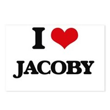I Love Jacoby Postcards (Package of 8)